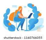 vector concept illustration... | Shutterstock .eps vector #1160766055