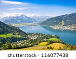 beautiful view of the city of... | Shutterstock . vector #116077438