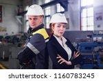 engineering construction... | Shutterstock . vector #1160783245