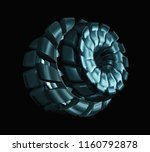 gear shaft roller isolated on... | Shutterstock . vector #1160792878