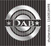 dab silver emblem or badge | Shutterstock .eps vector #1160818498