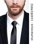 business man portrait  close up ... | Shutterstock . vector #1160819842