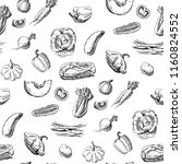 seamless pattern with... | Shutterstock .eps vector #1160824552