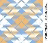 seamless diagonal orange blue...   Shutterstock .eps vector #1160827852