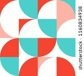 abstract minimal geometric...   Shutterstock .eps vector #1160834938