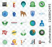 set of 25 transparent icons... | Shutterstock .eps vector #1160842495