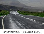 typical road conditions on the... | Shutterstock . vector #1160851198