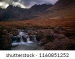 beautiful scottish countryside  ... | Shutterstock . vector #1160851252