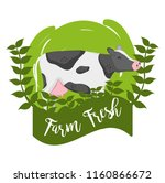 farm fresh cartoons | Shutterstock .eps vector #1160866672
