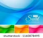 swirl abstract background... | Shutterstock .eps vector #1160878495