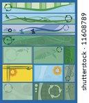green environmental themes... | Shutterstock .eps vector #11608789