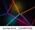 lazer neon lights background | Shutterstock . vector #1160899108