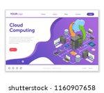 data network cloud computing...   Shutterstock .eps vector #1160907658