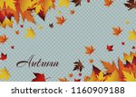 vector background with red ... | Shutterstock .eps vector #1160909188
