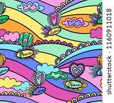doodle hand drawn vector... | Shutterstock .eps vector #1160911018