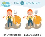 find differences  education... | Shutterstock .eps vector #1160926558
