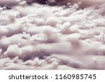 abstract background of clouds... | Shutterstock . vector #1160985745