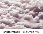 abstract background of clouds... | Shutterstock . vector #1160985748