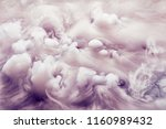 abstract background of clouds... | Shutterstock . vector #1160989432