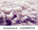 abstract background of clouds... | Shutterstock . vector #1160989435