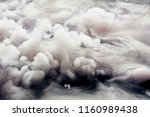 abstract background of clouds... | Shutterstock . vector #1160989438