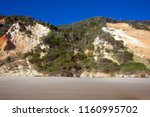 rainbow beach  queensland ... | Shutterstock . vector #1160995702