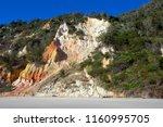 rainbow beach  queensland ... | Shutterstock . vector #1160995705