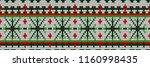 christmas sweater design.... | Shutterstock . vector #1160998435