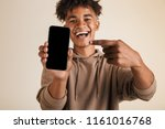portrait of a smiling young...   Shutterstock . vector #1161016768