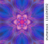 creative bright mandala....   Shutterstock . vector #1161043552