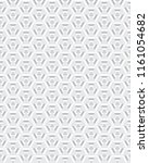 geometric camouflage hexagon... | Shutterstock .eps vector #1161054682