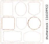 frame | Shutterstock .eps vector #116109922