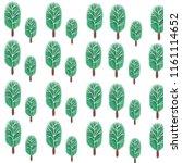 illustration watercolor tree... | Shutterstock . vector #1161114652