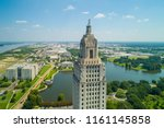 aerial closeup of the louisiana ... | Shutterstock . vector #1161145858