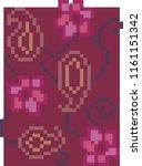 textile paper design   Shutterstock . vector #1161151342