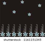 textile paper design   Shutterstock . vector #1161151345