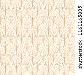 art deco seamless pattern.... | Shutterstock .eps vector #1161165835