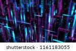 3d render abstract background.... | Shutterstock . vector #1161183055