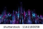 3d render abstract background.... | Shutterstock . vector #1161183058