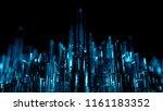 3d render abstract background.... | Shutterstock . vector #1161183352