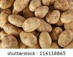 Fresh Organic Whole Potato On ...