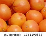 close up of grapefruits on... | Shutterstock . vector #1161190588