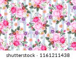 seamless pattern with country... | Shutterstock .eps vector #1161211438