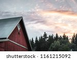 Red Swedish House Seen In The...