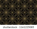 flower geometric pattern.... | Shutterstock .eps vector #1161225085