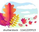 Vector Autumn Background Of...
