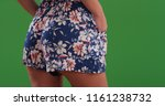 close up rear view of woman in... | Shutterstock . vector #1161238732