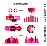 infographic elements  annual... | Shutterstock .eps vector #1161259465