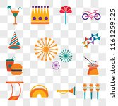 set of 13 transparent editable...