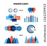 business data visualisation... | Shutterstock .eps vector #1161259915